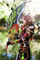 Blood Elf Paladin cosplay from World of Warcraft by jankeroodman