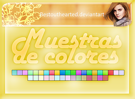 Muestras de colores suaves {ico} by Bestouthearted