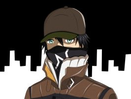 Watch_Dogs - Aiden Pearce by ZoorVahlok