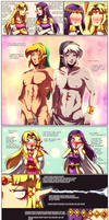 Conflict between worlds by Queen-Zelda