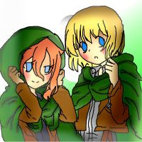Liyah And Armin  (re draw read dis) by liyahpuffedsweets