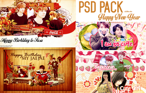 [PSD PACK] Happy New Year 2014 by sUJiRim
