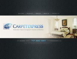 Carpet Express - clean layout by patrick24