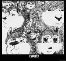EVOLVER Album Cover by TigrisTheLynx