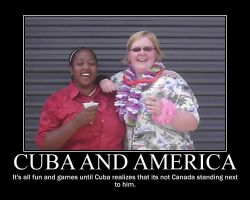 Motivational Cuba and America by Vance-Wyatt