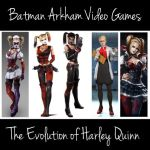 The Evolution of Harley Quinn by RockerDragonfly