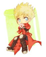 TRIGUN- chibi vash by T3hb33