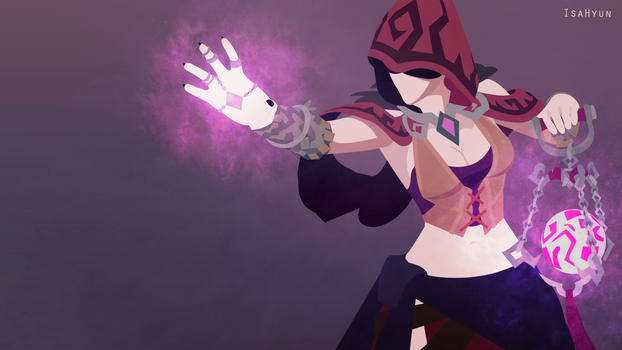 Seris (Paladins) Vector Edited Version - Wallpaper by Isahyun