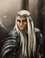 Thranduil by superpsyduck