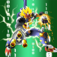 Digimon Frontier Tuned - Zaapmon by plzgaiasrebirth