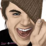 Zac Efron drawing recolor by joana94