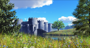 Old Castles and Legends by jbjdesigns