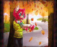 Oh, it's Autumn again by felicities
