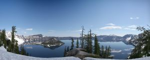 Crater Lake by andrewmcconville