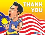 Thank you Dato' Lee Chong Wei by redleaf1