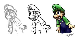 Luigi progression by angry-green-toast