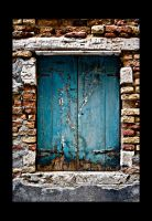 Venice Turquoise Shutters by CorazondeDios