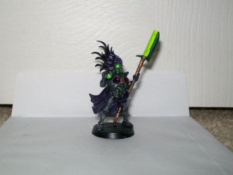 femal necron painted by IkariEXE