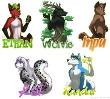 May Badge Commissions by Idess
