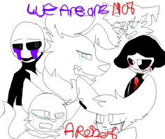 Im not a robot /this is a vent if you didnt notice by Golden-Teddy-Bear