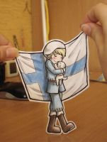 Finland -  Paper Child by Annuhka