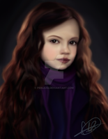 Mackenzie Foy. Digital Portrait. by peblezQ