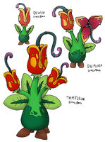 Man-Eating Plant v.2.0 by FawkesTheSkarmory