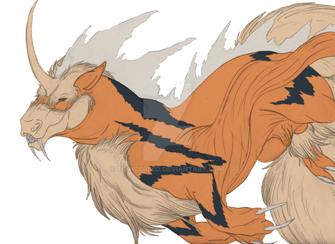 Pokemon: Very Common Lesser Bunyip by ToxicCreed