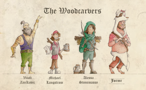 The Woodcarvers by Rukartbert