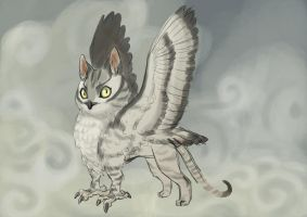 owl cat by shases