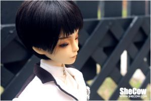 Head #3 - with black short wig by SheCow