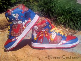 "Sonic""Light Speed""dunks-e1evEn by meberra"
