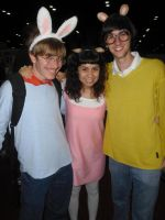 Megacon '14: Buster, D.W., and Arthur by NaturesRose