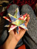 Greater Stellated Dodecahedron by lyzardcraft