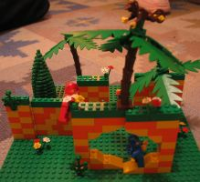 Jay's Lego Green Hill Zone by Lindsay40k