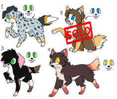 Dog Adoptables -OPEN- by Twine-Adopts