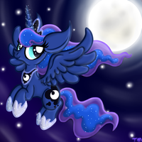 Luna's Night by TwilightKat64