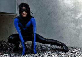 Nightwing Cosplay 1 by Ugly-desu