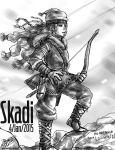 Skadi - For Louisey by LadyCat17