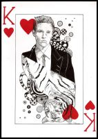 Playing Card - Brandon Flowers by HFlores