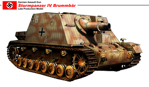 Sturmpanzer IV Brummbar 2 by nicksikh