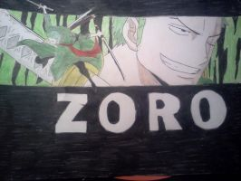 Post-Timeskip Zoro by Cam-san