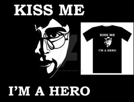 I'm a hero T_shirt by FloraDelaney