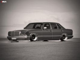 mercedes-benz Sel 560 by Clipse89