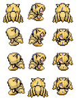 Lady Ninetails Overworld sprites by 2234083174