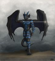 Might of the Swordsman by TargonRedDragon