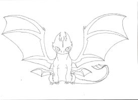 Toothless (WIP) by Toothless6reach