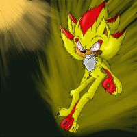 Fleetway shadow by rouge2t7