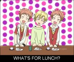 (Ouran HSHC) What's For Lunch? by Puffypaw