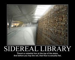 Sidereal Library by tomthefanboy